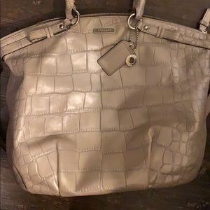 Pearl coach purse